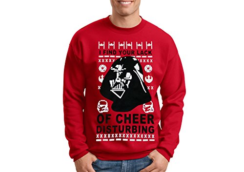 I Find Your Lack Of Cheer Disturbing Sweater