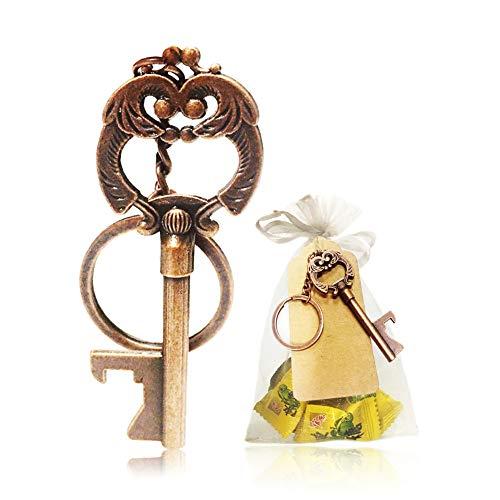 Metal Skeleton Key Bottle Opener Keychain Bottle Opener, used for sale  Delivered anywhere in USA