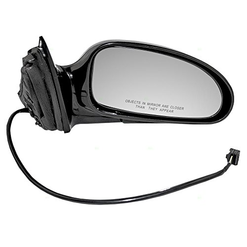 Lesabre Buick Power Mirror (Passengers Power Side View Mirror Ready-to-Paint Replacement for Buick 25769727)