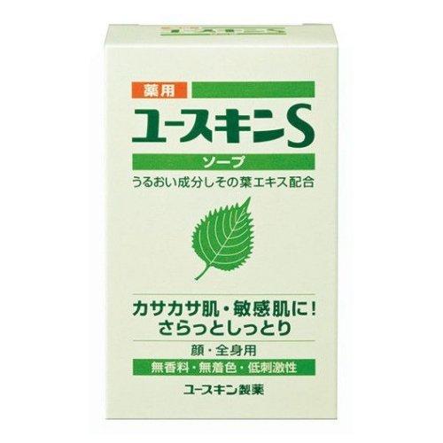 知恵焦げ窓薬用ユースキンS ソープ 90g (敏感肌用 透明石鹸) 【医薬部外品】