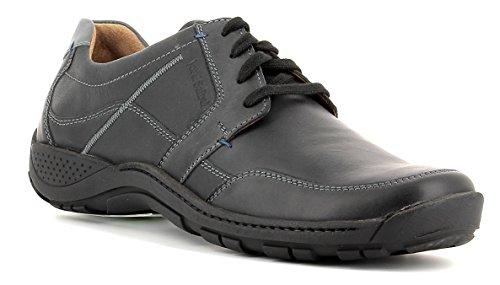 Josef Seibel De Encaje De Nolan 32 Mens Casuales Zapatos negro