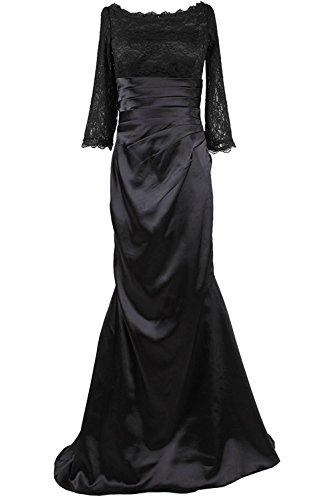 Sunvary 2016 Woman Floor Length Mother of the Bride Dress Lace Sleeves