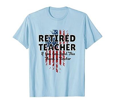 Teacher Retirement tee t-shirt