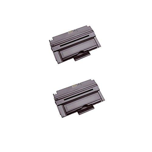 Premium Compatible Black High Capacity Toner Cartridge for Dell 2335 Printers-2Pack