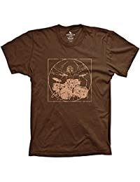 Davinci drummer funny music shirt drumming percussion tshirts