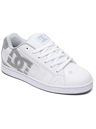 DC NET SE M SHOE WAH, Sneaker uomo Blanc - White/White/Lt Grey