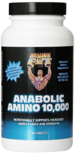Healthy 'n Fit Anabolic Amino 10,000, 90 tablets,  Bottle Review