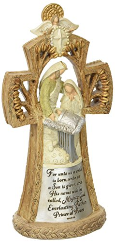 (Enesco Legacy of Love from Holy Family Standing Cross Figurine 8.46 in)