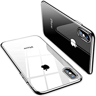 TORRAS Crystal Clear Compatible with iPhone Xs Max Case, [Anti-Yellowing] Soft Silicone Shockproof TPU Slim Thin Protective Phone Cover Case for iPhone Xs Max 6.5 inch- Crystal Clear