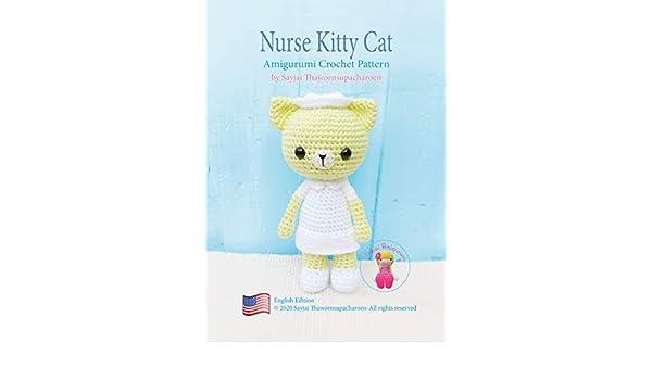 Nurse Jazzy, amigurumi, crochet pattern | For sale on www.ka… | Flickr | 350x600