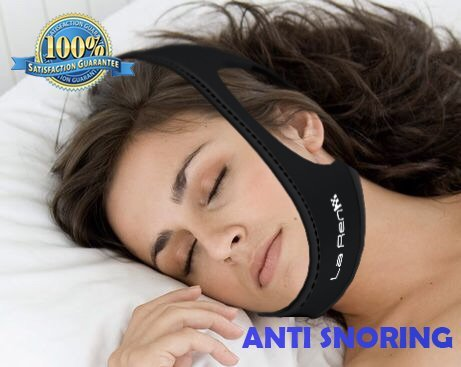 New La Ren™, Snore Stopper, Anti Snoring Chin Strap, Sleep Aid Device, Snoring Chin Strap, Stop Snoring, Non Snoring, Sleeping Aid, Stop Snoring Chin Strap