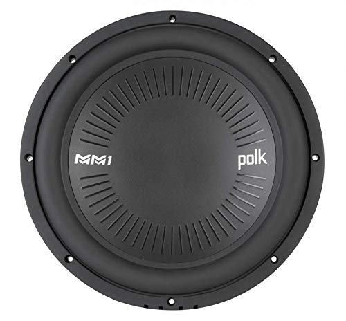 Polk MM1 Series 12″ 1260W 4 Ohm Single Voice Coil ATV, Car, & Marine Subwoofer