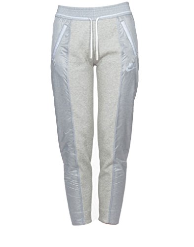 Nike Pant-Splatter - Pantalon para mujer, color gris / blanco, talla M Gris / Blanco
