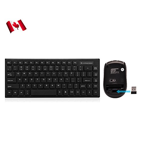 Rii RK700 Wireless keyboard and mouse for Windows /Android/Linux devices with USB port