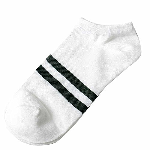 Stripes Socks,Clearance Sale! 1Pairs Unisex Stripe Comfortable Cotton Sock Slippers Short Ankle Socks