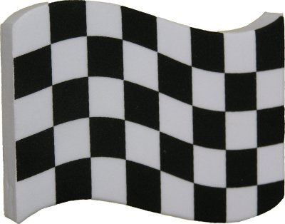 Chequered Flag Racing Car Aerial Ball Antenna Topper FLAG