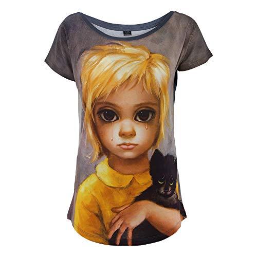 Mk03tsx Cotone Donna Multicolor L'arte Vesti T shirt 1xqwaxXI