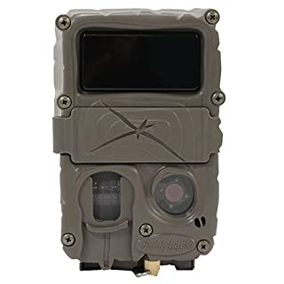Cuddeback 20MP Black Flash No Glow Infrared Trail Game Hunting Camera with Mounting Bracket and Strap