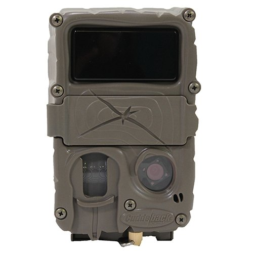 Cuddeback 20MP Black Flash No Glow Infrared Trail Game Hunting Camera with Mounting Bracket and Strap by Cuddeback