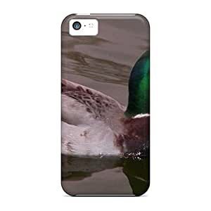 Hard Plastic Iphone 5c Cases Back Covers,hot Duck Cases At Perfect Customized
