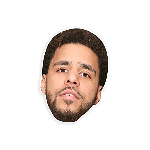 J Cole Halloween Costumes (Serious J Cole Mask - Perfect for Halloween, Masquerade, Parties, Events, Concerts - Jumbo Size Waterproof)