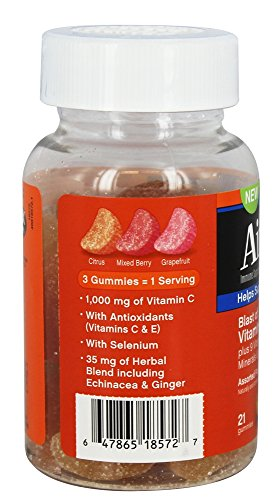 Airborne Immune Support Supplement with Vitamin C Chewable Gummies