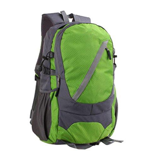 Xin Su Bolsa De Viaje De Ocio Ultra - Ligero Bolsa De Viaje Bolsa Impermeable Alpinismo Hombros Mochila Para Deportes Al Aire Libre Mochila Multi - Funcional. Multicolor Green