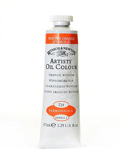 Winsor & Newton Artists' Oil Colours (Winsor Orange) 1 pcs sku# 1874696MA