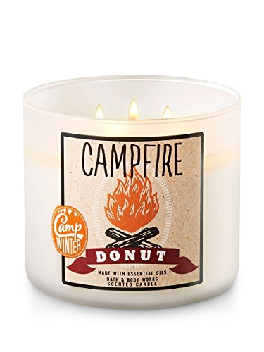 Campfire Donut Candle made our list of camping gifts couples will love and are the best gifts for couples who camp in tents or RVs including awesome gifts for people who love camping with their friends and families!
