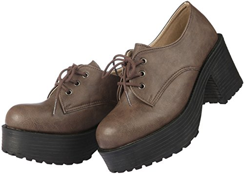 Heel 1700 Brown Lace Up Paperplanes Boots Fashion Cuban 1703 Shoes Women Yv4d4waq