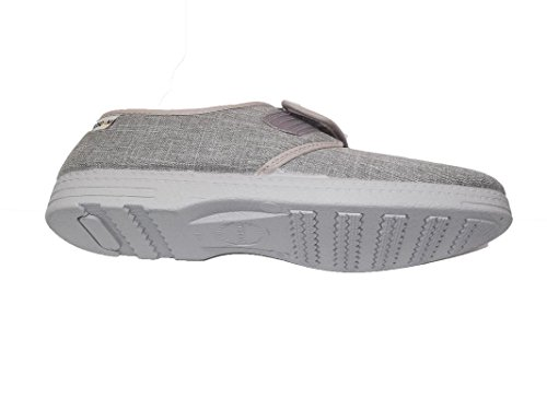 Cosdam Men's Slippers/Espadrille Colors: Gray Made in Spain Mod Gris Easy Closing/Spring/Summer 2018/Sizes from 40 to 47 Gray outlet factory outlet discount outlet store pay with paypal for sale discount limited edition find great for sale PlD4tf