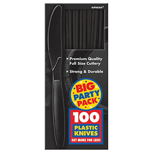 Amscan Big Party Pack 100 Count Mid Weight