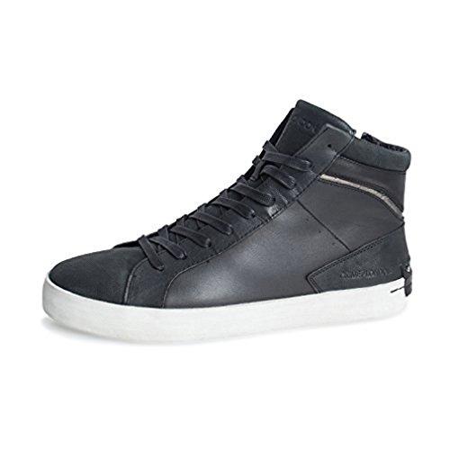 CRIME London Herren Sneaker 11007A17 von Farbe 20 Schwarz High Schnürrschuh Neue Kollektion Herbst Winter 17/18 (41)
