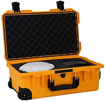 ツールボックスセーフティボックス計器ボックス航空機器ボックス保護ボックスレンズボックストロリーケース科学研究ボックス、黄色