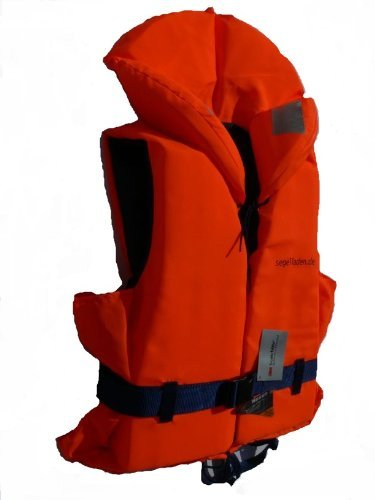 Rettungsweste für Körpergewicht 40-60 kg mit Beleuchtung