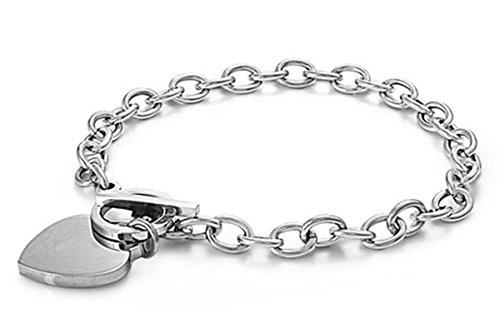 Tiffany Star Bracelet (316L Stainless Steel Heart Toggle Lock Fashion)