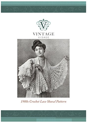 How to make a titanic 1900s era lacey fluted crochet shawl- vintage crochet pattern: 1900s Crochet Lace Shawl Pattern Edwardian Crochet