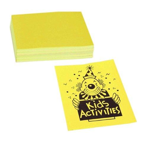 Pacon Corporation 104316 Neon Bond Paper, 24 lb, 100 Sheets, 8-1/2