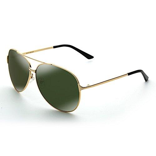 B sol con Aviator de Gafas sol de hombres D Color de Gafas de polarizadas de UV conducción protección SSSX sol para sol Gafas Gafas BaATTqU