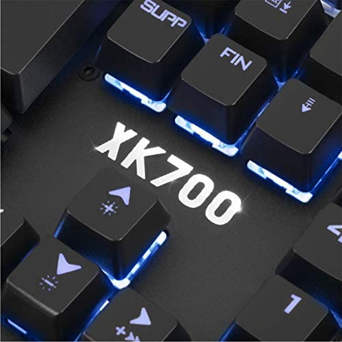Clavier Mécanique Pro K700 Spirit of Gamer - Rétro éclairé RGB - Switch Victory Red