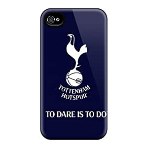 Premium Protection Tottenham Hotspur Case Cover For Iphone 4/4s- Retail Packaging