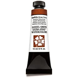 Daniel Smith Extra Fine Watercolor 15ml Paint Tube, Goethite-Brown Ochre