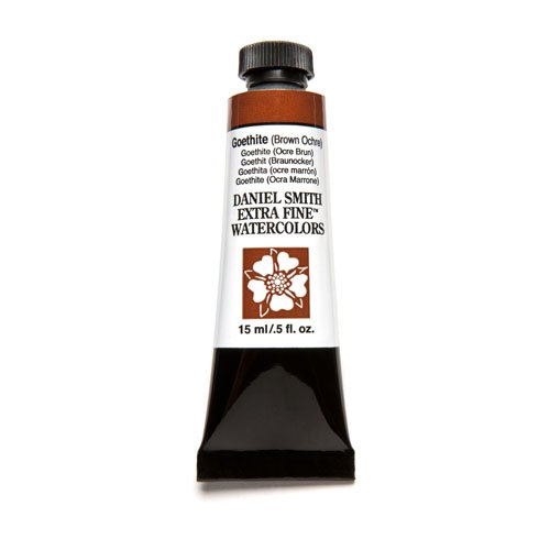 Daniel Smith Extra Fine Watercolor 15ml Paint Tube, Goethite-Brown Ochre (Display Watercolor)