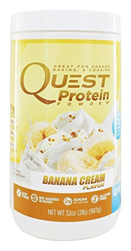 Price comparison product image Quest Nutrition - Protein Powder Banana Cream - 2 lbs.