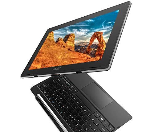Acer Switch V 10 10.1in HD (1280x800) IPS TOUCHSCREEN 2-IN-1 Detachable Tablet Laptop: Intel Atom Quad-Core x5-Z8350, 64GB SSD, 4GB RAM, WiFi AC, Windows 10 Professional (Renewed)