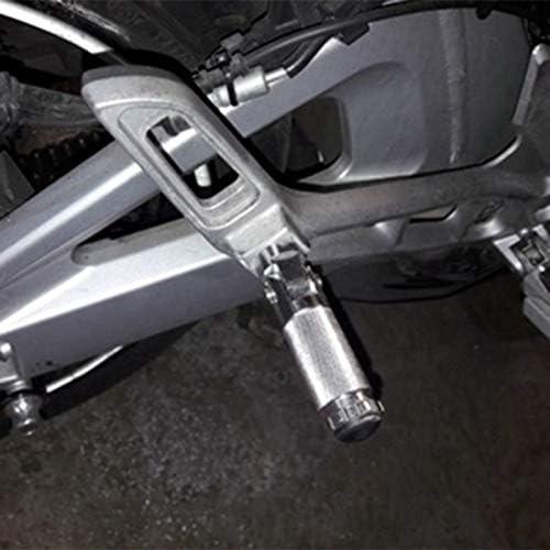 Tiamu Universal Motocicleta Motocicleta Pedal Trasero Tablero Reposapi/és Plegable Estriberas Reposapi/és Clavijas