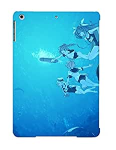 New Style Tpu Air Protective Case Cover/ Ipad Case - Kantai Collection School Swimsuit Senmu Swimsuit Underwater Water