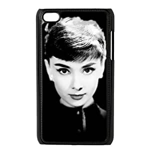 YYCASE Customized Phone Case Of Audrey Hepburn For Ipod Touch 4