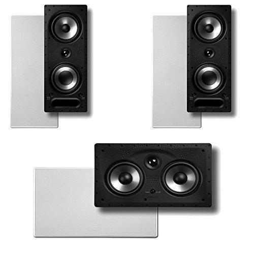 - Polk Audio Vanishing RT Series 3.0 in-Wall Home Speaker System (2-265RT & 1-255CRT)
