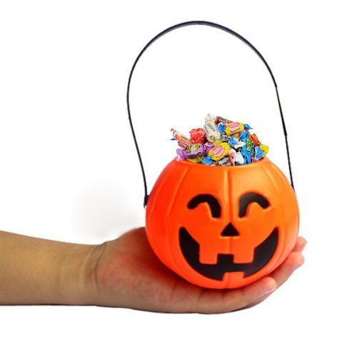 Amazon.com: Dazzling Toys Pumpkin Candy Holder 12 Mini Trick Or Treat  Halloween Candy Bucket: Toys U0026 Games